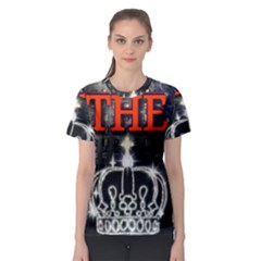 The King Women s Sport Mesh Tee by SugaPlumsEmporium