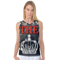 The King Women s Basketball Tank Top by SugaPlumsEmporium