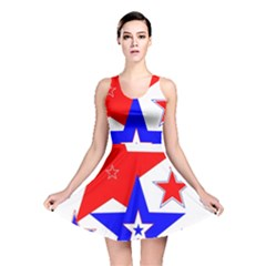 The Patriot 2 Reversible Skater Dress by SugaPlumsEmporium