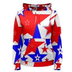 The Patriot 2 Women s Pullover Hoodie by SugaPlumsEmporium