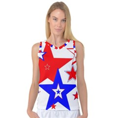 The Patriot 2 Women s Basketball Tank Top by SugaPlumsEmporium