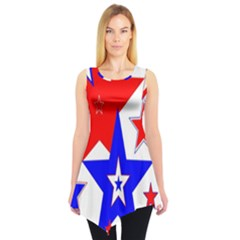 The Patriot 2 Sleeveless Tunic by SugaPlumsEmporium