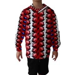 The Patriotic Flag Hooded Wind Breaker (kids) by SugaPlumsEmporium