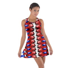 The Patriotic Flag Racerback Dresses by SugaPlumsEmporium
