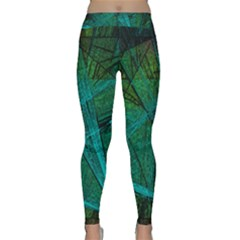 Weathered Yoga Leggings by SugaPlumsEmporium
