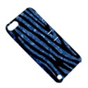 SKIN4 BLACK MARBLE & BLUE MARBLE (R) Apple iPod Touch 5 Hardshell Case with Stand View5