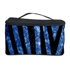 Skin4 Black Marble & Blue Marble Cosmetic Storage Case by trendistuff