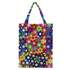 Star Of David Classic Tote Bag by SugaPlumsEmporium