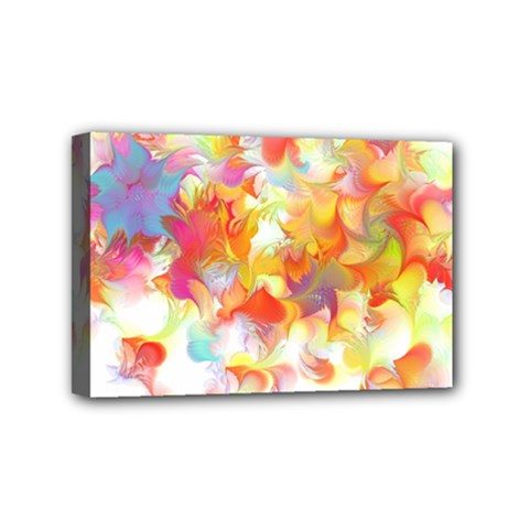 Hawaiian Flair Mini Canvas 6  X 4  (stretched) by SugaPlumsEmporium