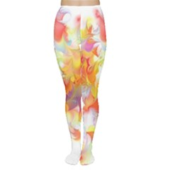 Hawaiian Flair Tights by SugaPlumsEmporium