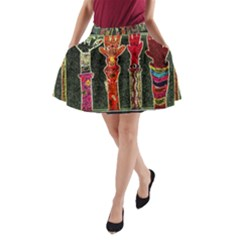 Hands Down! A Line Pocket Skirt by SugaPlumsEmporium