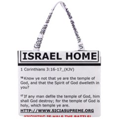 Israel Home Temple Of God Mini Tote Bag by SugaPlumsEmporium