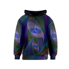 Eye Of The Galactic Storm Kids  Pullover Hoodie by StuffOrSomething