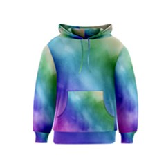 Rainbow Watercolor Kids  Pullover Hoodie by StuffOrSomething