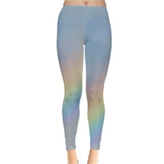 Colorful Natural Rainbow Leggings  by yoursparklingshop