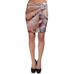 Exotic Tropical Romantic Sea Shells Bodycon Skirts by yoursparklingshop