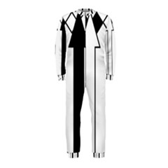 Funny Black and White Stripes Diamonds Arrows OnePiece Jumpsuit (Kids)