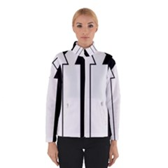 Funny Black and White Stripes Diamonds Arrows Winterwear
