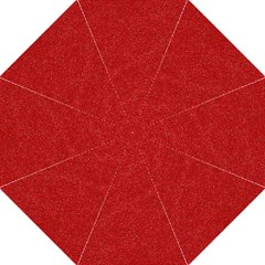 Festive Red Glitter Texture Folding Umbrellas