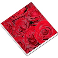 Red Love Roses Small Memo Pads by yoursparklingshop