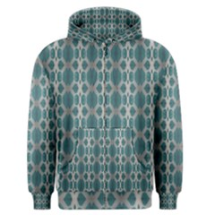 Tropical Blue Abstract Ocean Drops Men s Zipper Hoodie by yoursparklingshop