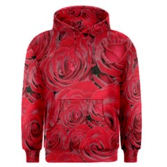 Red Roses Love Men s Pullover Hoodie by yoursparklingshop