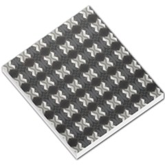 Black White Gray Crosses Small Memo Pads by yoursparklingshop