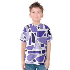 Silly Purples Kid s Cotton Tee