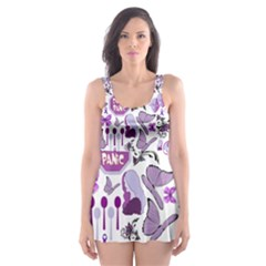 Fms Mash Up Skater Dress Swimsuit by FunWithFibro