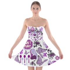 Fms Mash Up Strapless Dresses by FunWithFibro