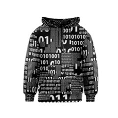 Beautiful Binary Kids  Pullover Hoodie by StuffOrSomething