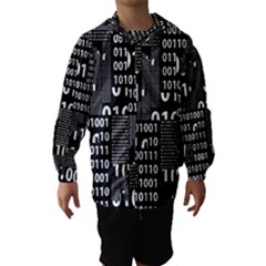 Beautiful Binary Hooded Wind Breaker (kids)
