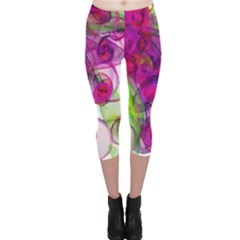 Violet Capri Leggings  by SugaPlumsEmporium