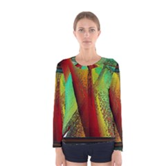Stained Glass Window Women s Long Sleeve Tee