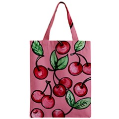 Cherry Pattern Classic Tote Bag by BubbSnugg