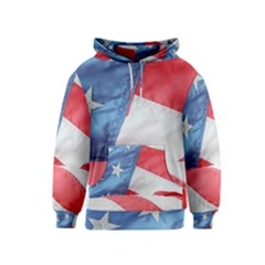 Folded American Flag Kids  Pullover Hoodie by StuffOrSomething
