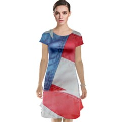 Folded American Flag Cap Sleeve Nightdress by StuffOrSomething