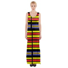 Flair Maxi Thigh Split Dress by MRTACPANS