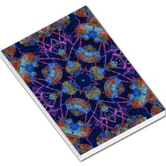 Ornate Mosaic Large Memo Pads by dflcprints