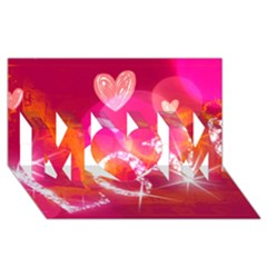 Love Mom 3d Greeting Card (8x4)  by SugaPlumsEmporium