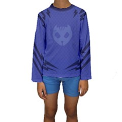 Pj Masks Catboy Kid s Long Sleeve Swimwear by rocketmommy