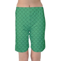 Pj Masks Gekko Kid s Mid Length Swim Shorts by rocketmommy