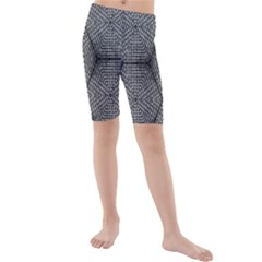 The Weave  Kid s Mid Length Swim Shorts by SugaPlumsEmporium