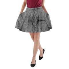 The Weave  A Line Pocket Skirt