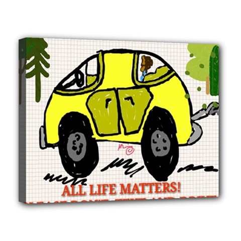 All Life Matters! Canvas 14  X 11  by SugaPlumsEmporium