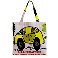 All Life Matters! Grocery Tote Bag by SugaPlumsEmporium