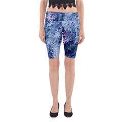 Splashes! Yoga Cropped Leggings
