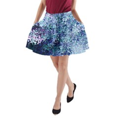 Splashes! A Line Pocket Skirt by SugaPlumsEmporium