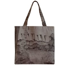 Peace In The Valley  Grocery Tote Bag by SugaPlumsEmporium