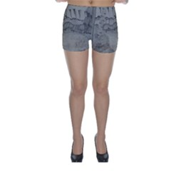 Peace In The Valley  Skinny Shorts by SugaPlumsEmporium